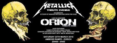 Metallica Tribute Evening @ Amboss Rampe | Zürich | Zürich | Schweiz