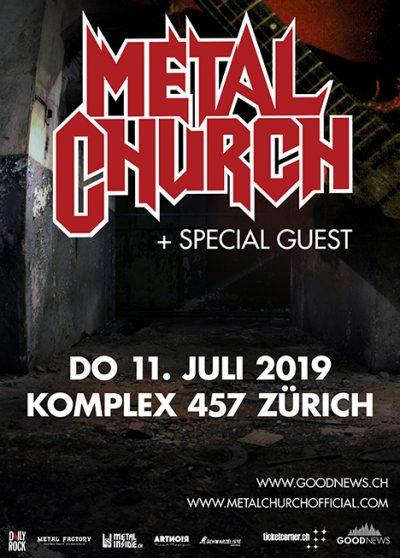 Metal Church 2019-07-11