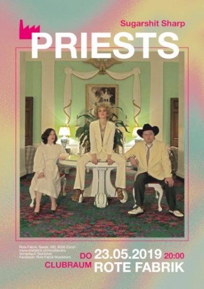 Priests @ Rote Fabrik, Clubraum