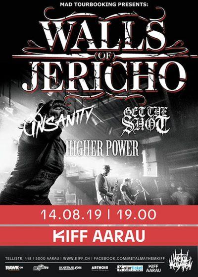 Walls Of Jericho 2019-08-14