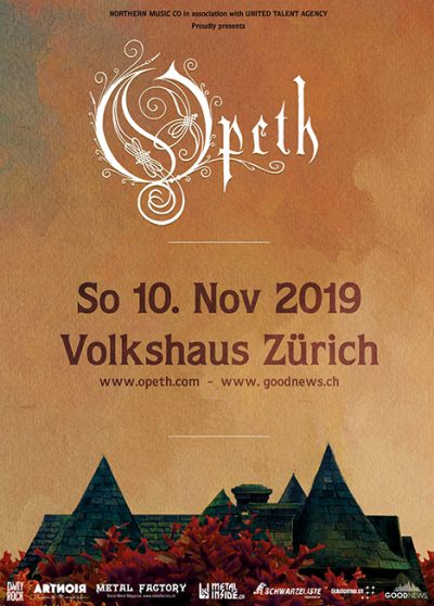 Opeth 2019-11-10