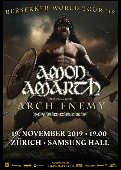 Amon Amarth @ Samsung Hall