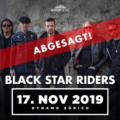 Black Star Riders ** ABGESAGT ** @ Dynamo