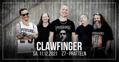 Clawfinger ** VERSCHOBEN – neuer Termin 11.12.2021 ** @ Z7