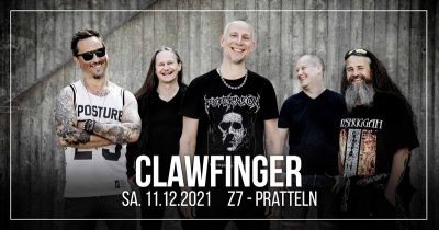 Clawfinger 2021-12-11