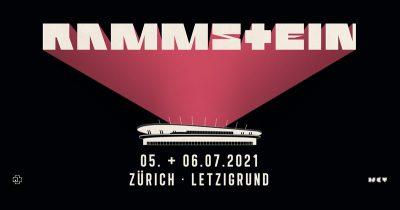 Rammstein  ** VERSCHOBEN – neuer Termin 06.07.2021 ** @ Letzigrund