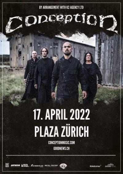 Conception ** VERSCHOBEN – neuer Termin 17.04.2022 ** @ Dynamo