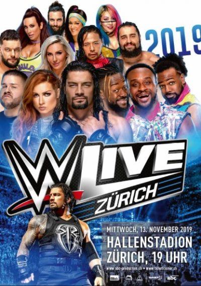WWE 2019 @ Hallenstadion