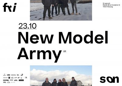 New Model Army @ Fri-Son