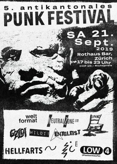 5. Antikantonales Punk Festival @ Rothaus Bar