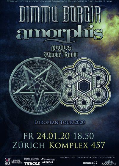 Dimmu Borgir & Amorphis @ Komplex 457