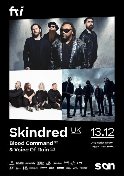 Skindred @ Fri-Son