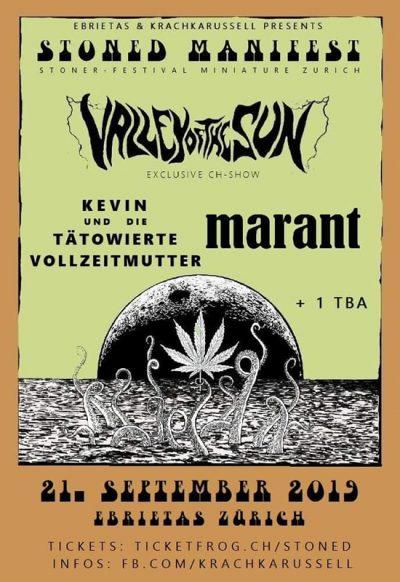 Stoned Mani-Fest @ Ebrietas