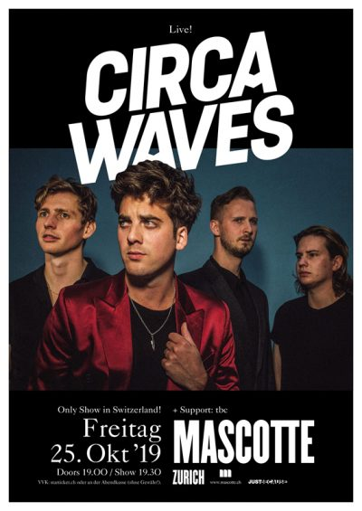 Circa Waves @ Mascotte