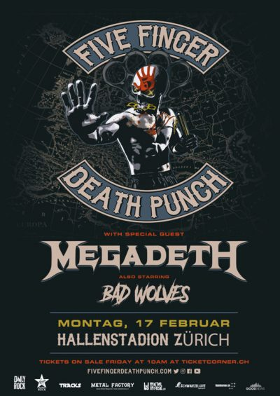 Five Finger Death Punch 2020-02-17