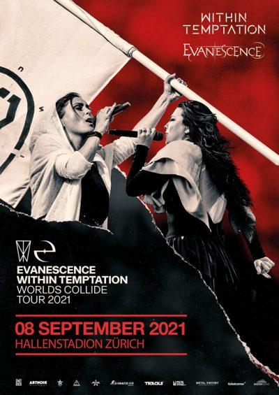 Within Temptation & Evanescence ** VERSCHOBEN – neuer Termin 08.09.2021 ** @ Hallenstadion