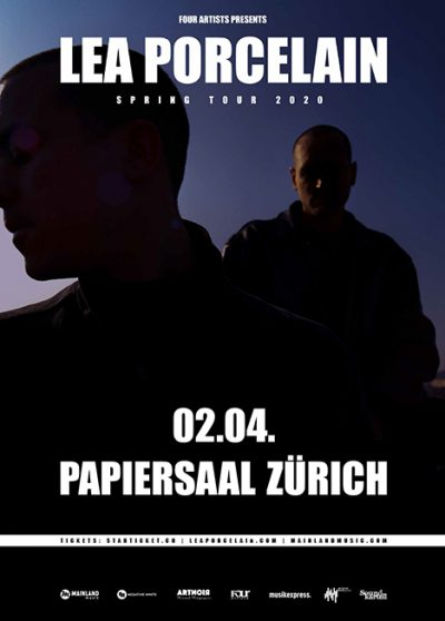 Lea Porcelain ** VERSCHOBEN – neuer Termin 15.08.2020 ** @ Papiersaal