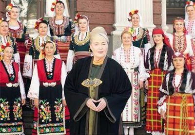Le Mystère des Voix Bulgares feat. Lisa Gerrard (Dead Can Dance) @ Kirche Neumünster