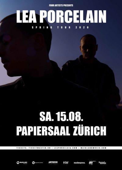 Lea Porcelain ** VERSCHOBEN – neuer Termin 17.03.2021 ** @ Papiersaal