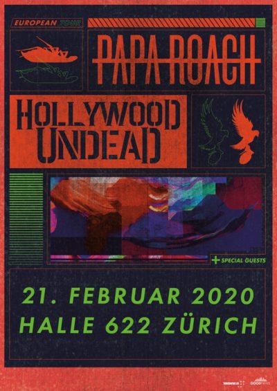 Papa Roach @ Halle 622