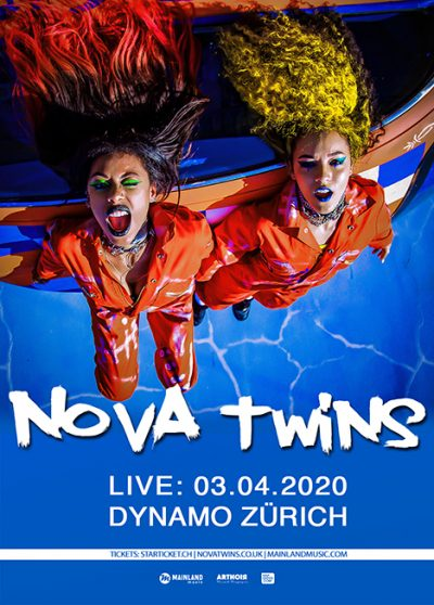 Nova Twins ** VERSCHOBEN – neuer Termin tba ** @ Werk21