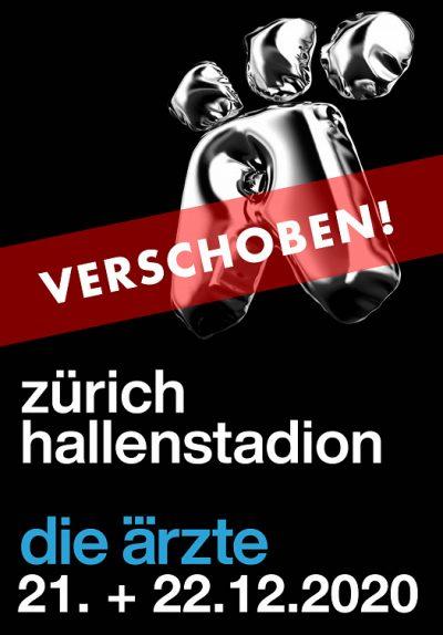 Die Ärzte ** VERSCHOBEN – neuer Termin 14.12.2021 ** @ Hallenstadion