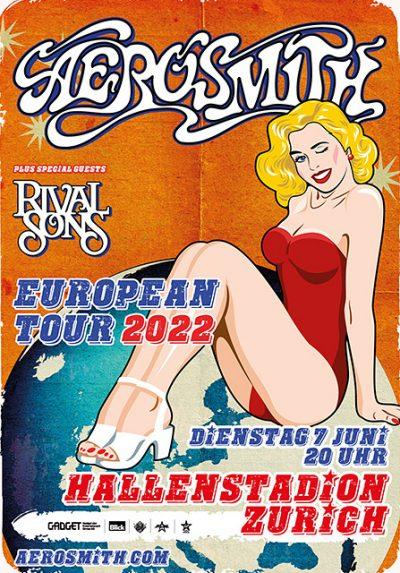 Aerosmith ** VERSCHOBEN – neuer Termin 07.06.2022 ** @ Hallenstadion