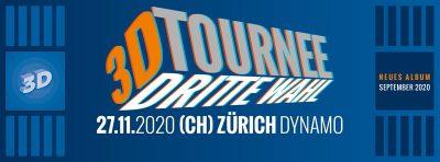 Dritte Wahl ** VERSCHOBEN – neuer Termin 03.12.2021 ** @ Dynamo