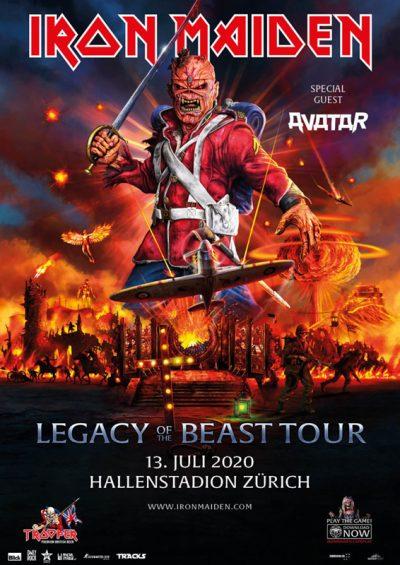 Iron Maiden ** ABGESAGT ** @ Hallenstadion