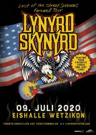 Lynyrd Skynyrd ** VERSCHOBEN – neuer Termin tba ** @ Eishalle