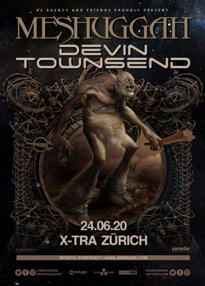 Meshuggah & Devin Townsend 2020-06-24