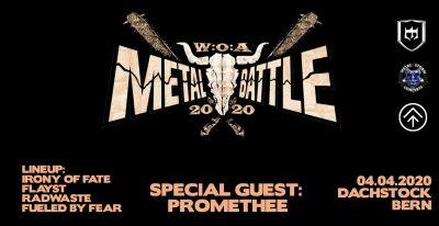 W:A:O Metal Battle Halbfinale ** VERSCHOBEN – neuer Termin tba ** @ Dachstock