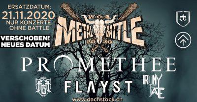 W:A:O Metal Battle Halbfinale 2020-11-21