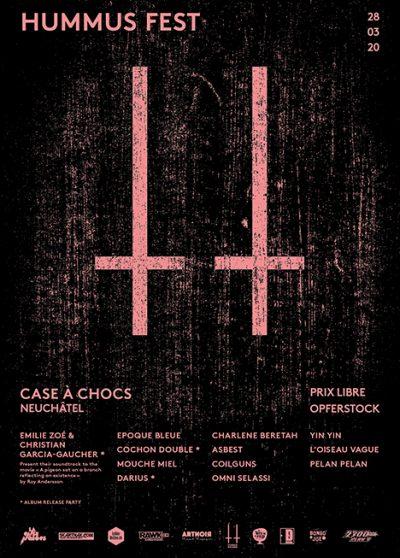 Hummus Fest ** VERSCHOBEN – neuer Termin 20.06.2020 ** @ Case à Chocs