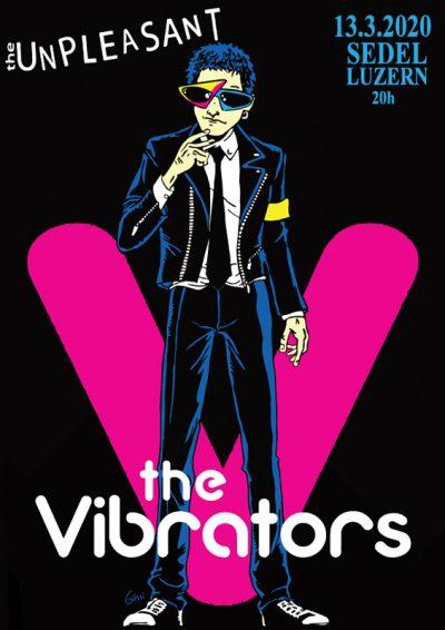 The Vibrators 2020-03-13