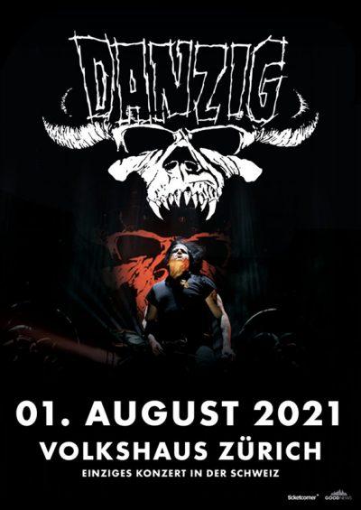 Danzig  ** VERSCHOBEN – neuer Termin 01.08.2021 ** @ Volkshaus