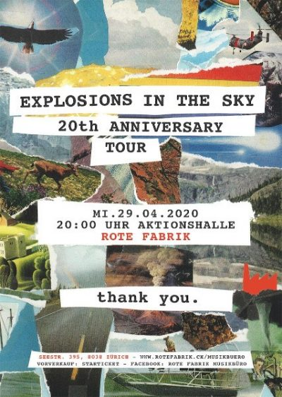 Explosions In The Sky 2020-04-29