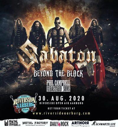 Riverside Open Air - Sabaton 2020-08-30