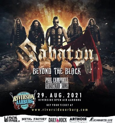 Riverside Open Air - Sabaton 2021-08-29