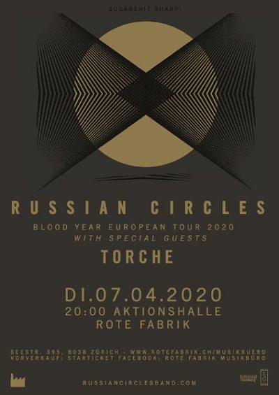 Russian Circles ** VERSCHOBEN – neuer Termin tba  ** @ Rote Fabrik