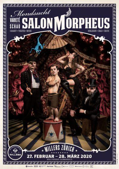 Salon Morpheus ** VERSCHOBEN – neuer Termin tba ** @ Millers