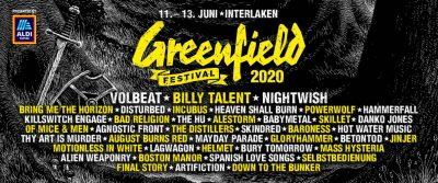 Greenfield Festival ** ABGESAGT ** @ Flugplatz
