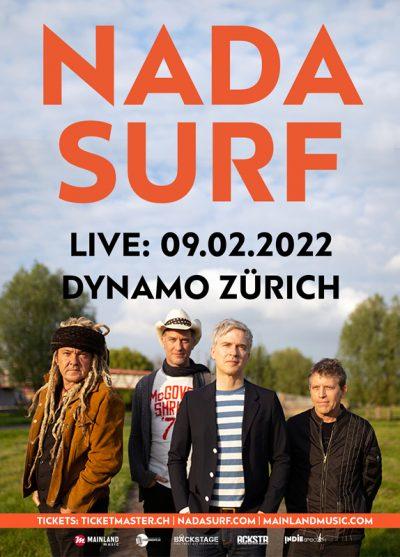 Nada Surf ** VERSCHOBEN – neuer Termin 09.02.2022 ** @ Dynamo