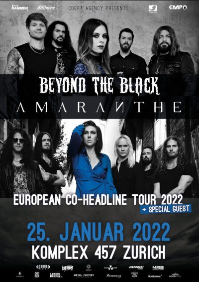 Beyond The Black & Amaranthe 2022-01-25