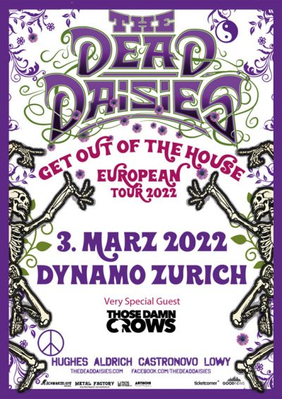 The Dead Daisies 2022-03-03
