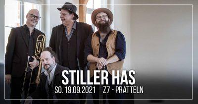 Stiller Has  ** VERSCHOBEN – neuer Termin 19.09.2021 ** @ Z7