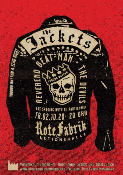 The Jackets, Reverend Beat-Man, The Devils @ Rote Fabrik