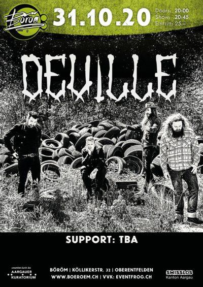 Deville ** ABGESAGT ** @ Böröm