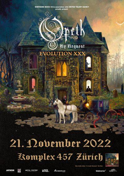 Opeth 2022-11-21