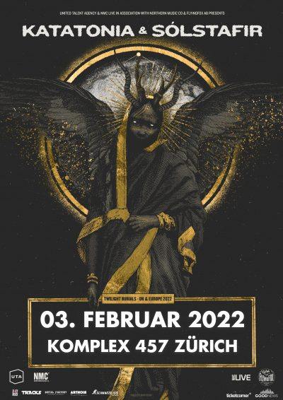 Katatonia & Sólstafir 2022-02-03